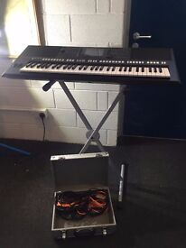 YAMAHA ARRANGER KEYBOARD PSR-S750 (BOXED-with stand)