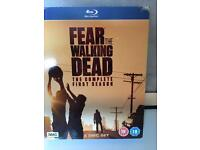 DVD blue ray fear the walking dead