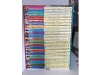 Famous Five box set - most of them unopened. Perfect condition.