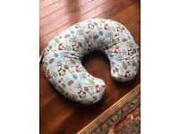 Boppy cotton baby feeding pillow