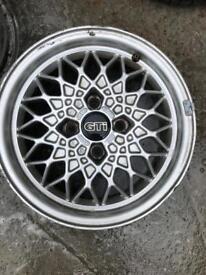 "BBS RA 15"" Alloy wheels + 1x Pirelli P6000"