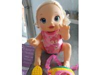Baby Alive Go Bye-Bye Blonde Doll Interactive Talks