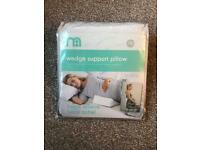 Maternity pregnancy wedge support pillow
