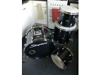 Vintage 1980's 4 Piece Slingerland Drum Kit