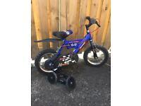 "Boys Raleigh bike 10"" wheels"