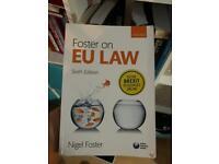 EU law books. £5 each
