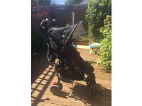 Black Maclaren Techno Stroller