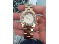 Women's Rose Gold Marc Jacobs watch