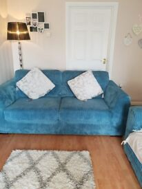 2 three seater sofas for sale
