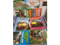 Collection of Train Books