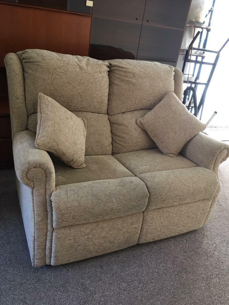Sofain Norwich, NorfolkGumtree - PRICE REDUCTION for quick sale/Collection in this good condition and good quality 2 seater sofa due to property sold. Comes complete with 2 cushions