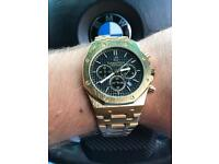 Gold Watch stainless steel Luxury
