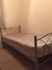 Single bed + mattress + transport