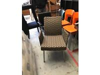 Funky patterned chair