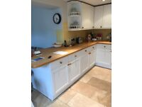 howdens kitchen, units, work top and appliances