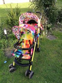Cosatto funky double tandem buggy