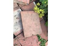 Wanted patio slabs terracotta