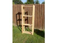 Wood Shelving Unit