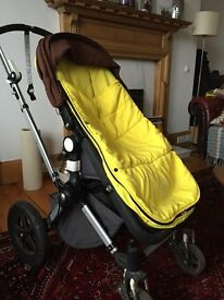 Bugaboo cameleon with travelbag