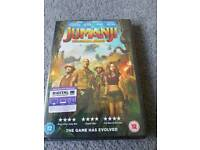 Jumanji DVD. Brand new sealed