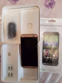 HTC One M8 - mint condition, boxed