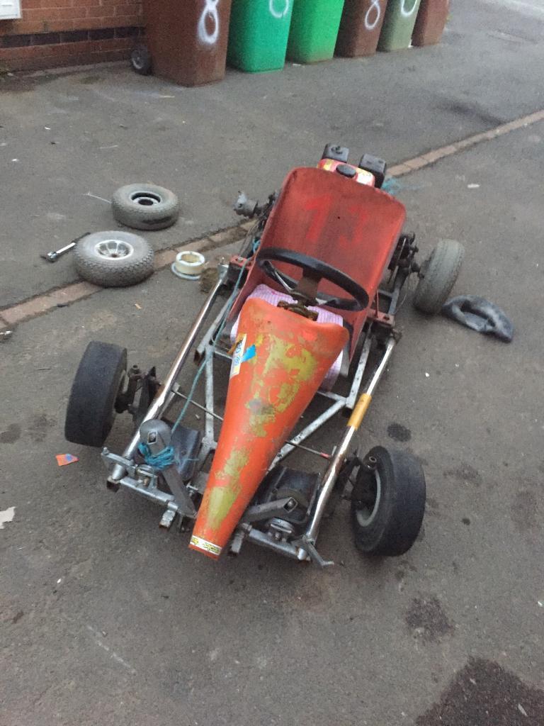 Honda Gx160 project go kart