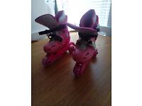 Argos Inline Roller Skates 9 - 12 - Pink