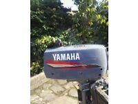 Yamaha 2hp Outboard 2 Stroke Very good condition.
