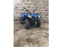 Quadzilla 450 4x4 Quad / ATV road legal . winch , alloys