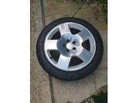 Alloy wheels 225/45 ZR17 Audi TT MK1