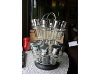 40 jar spice rack