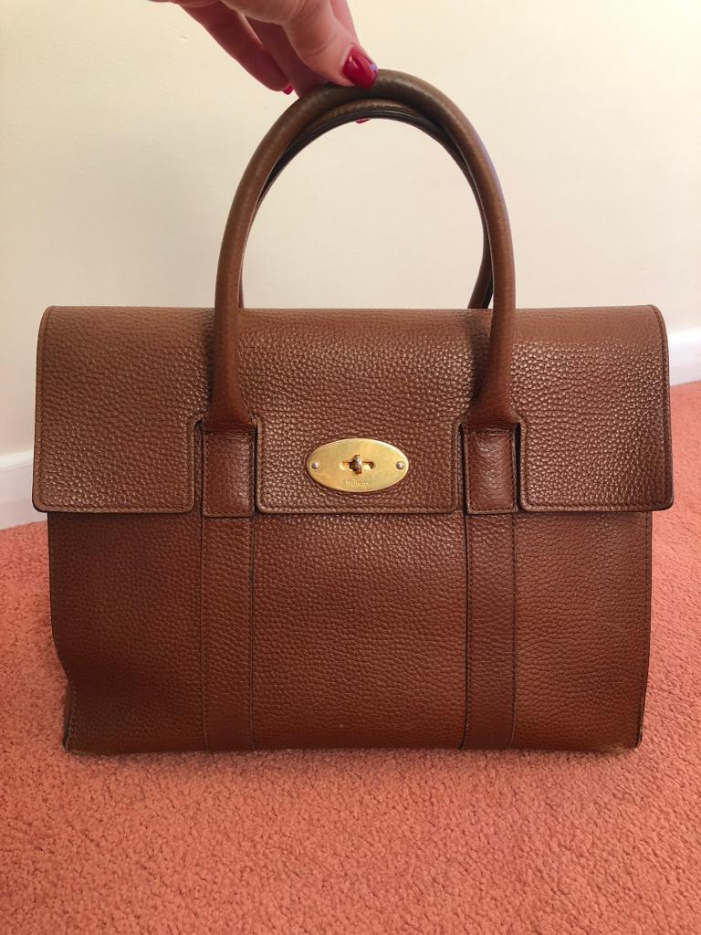 Mulberry Bayswater in Oak Natural Grain Leather  6c30e50983782