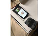 Nintendo switch like new boxed extras plus Zelda botw