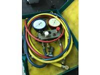 Refco manifold and hoses