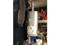 Klarius centre silencer exhaust box for VW T5 transporter