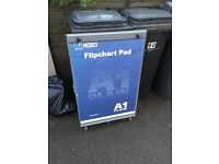 NOBO flip chart stand and pad