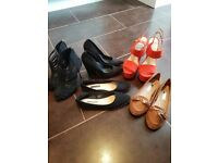 Size 5 brand new never worn shoe bundle