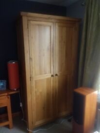 Real wood modern wardrobe .