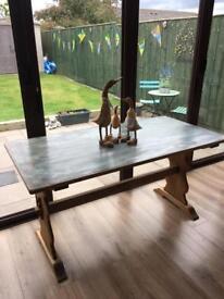 Bespoke farmhouse dining table