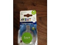 Avent Classic 1 month teats