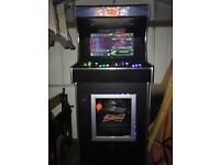 Arcade machine with 480 classic games plus drinks fridge and drinks holders