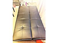 Sofa bed 3 seats great condition Black CLEARANCE