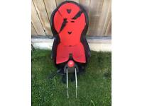Childs bike seat