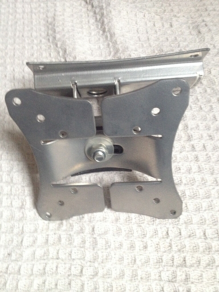 "Slimline TV wall bracket turns&tilts,fits upto 42"" TVs,bargain at only £20,no time wasters please"