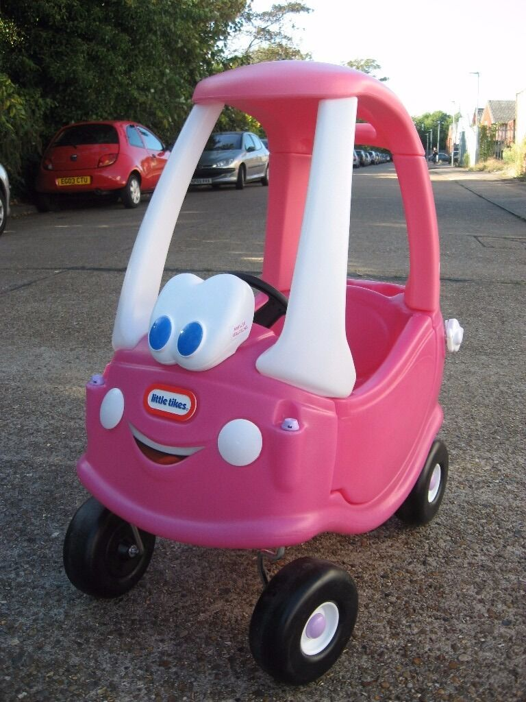 New little tikes cozy coupe pink child 39 s ride on car christmas present gift in shoeburyness - Little tikes cozy coupe pink ...