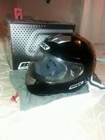 Black helmet size Large