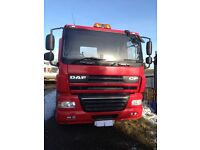 DAF CF85 artic unit Engine fully reconditioned