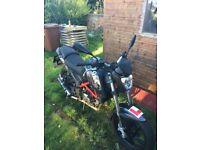 KSR GRS motorcycle