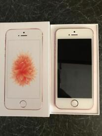 Immaculate iPhone SE ROSEGOLD