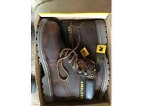 Amblers steel toe cap boots size 10